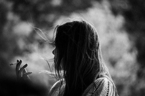 Sievietes smēķētājas